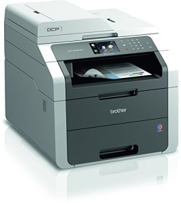 Brother Farblaserdrucker DCP-9022CDW Kompaktes 3-in-1 Multifunktionsgerät