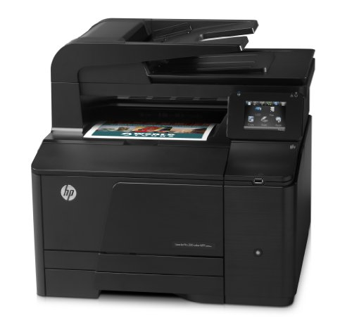 HP LaserJet Pro 200 M276n e-All-in-One Farblaser Multifunktionsdrucker (A4, Drucker, Scanner, Kopierer, Fax, Ethernet, USB, 600x600)4